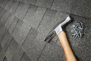 Roofer,Roof,Hammer,Repairin...