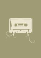 Audio Cassette,Stencil,Musi...