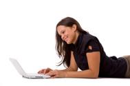 Web Page,Women,Computer,Lap...