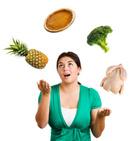 Food,Juggling,Women,Healthy...