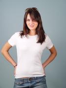 T-Shirt,White,Shirt,Women,T...