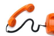 Telephone,Orange Color,On T...