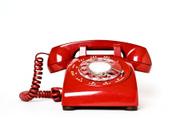 Telephone,Red,Retro Revival...