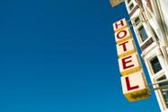 Hotel,Sign,City,Facade,Neon...