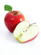 Apple - Fruit,Slice,Red,Fru...
