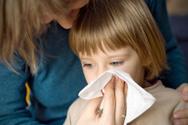 Child,Sneezing,Illness,Moth...
