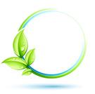 Leaf,Circle,Green Color,Wat...