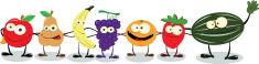 Fruit,Vegetable,Cartoon,Hum...