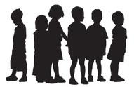 Silhouette,Child,Education,...