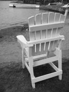 Chair,Black Color,Beach,Whi...