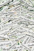 Newspaper Headline,Recessio...