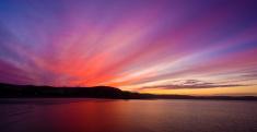 Sunrise - Dawn,Purple,Mount...