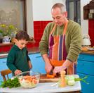 Child,Domestic Kitchen,Fami...