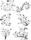 Flower,Floral Pattern,Scrol...