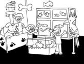 Fish,Store,Drawing - Art Pr...