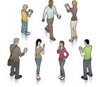 People,Isometric,Walking,Te...