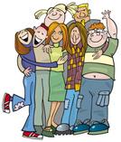 Friendship,Teenager,Group O...