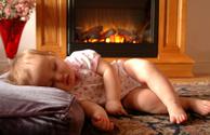 Fireplace,Heat - Temperatur...