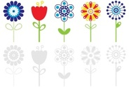 Tulip,Daisy,Single Flower,F...