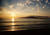 Sunset,Hawaii Islands,Beach...