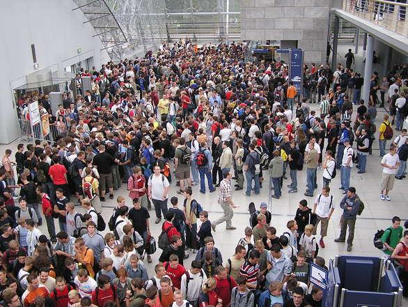 Games Convention, Leipzig 2004
