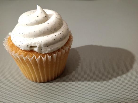 Cupcake met icing
