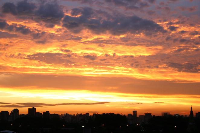 sunset in Sao Paulo 2