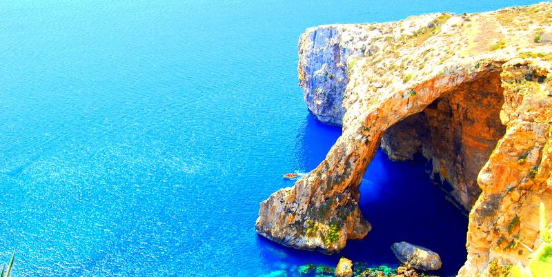 malta blue grotto