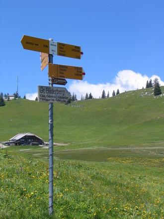 Hiking Berner Oberland Switzerland 2