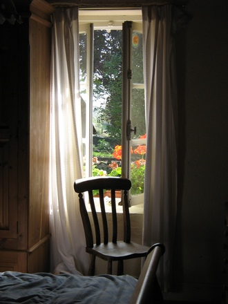 Window with chair