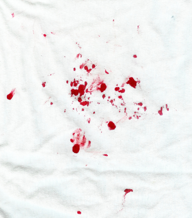 Free Blood Stained Shirt Stock Photo