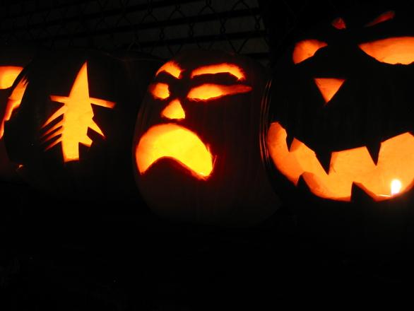 Halloween pumpkins#2