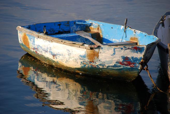 Weathered Rowboat