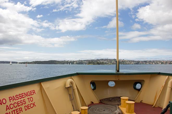 Onboard Ferry