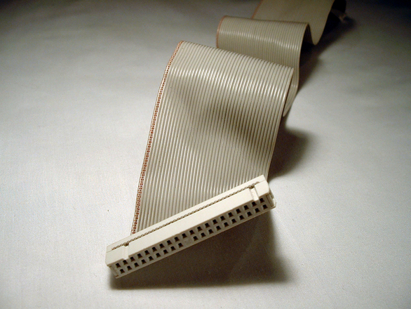 Ribbon Cable Texture : Free computer cable stock photo freeimages