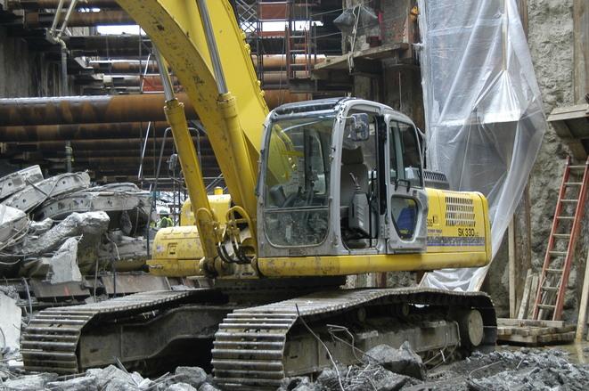 Rakennustyömaa tekniikka