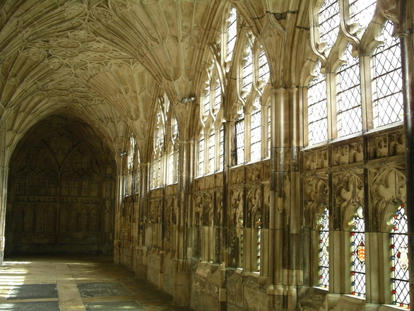 Cloisters at Gloucester Cathedral