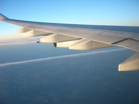 Maisemat lentokoneessa