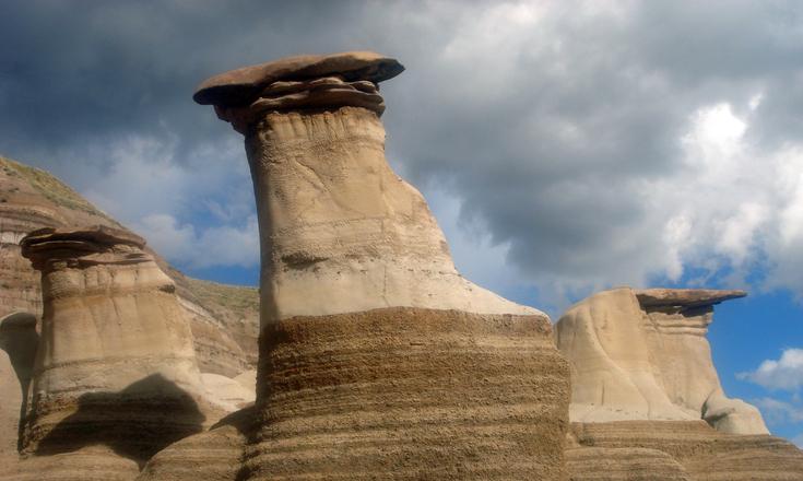 Hoodoos - Drumheller, Alberta, Canada 2