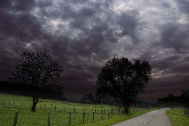 Dark afternoon