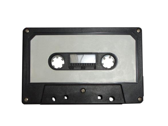 Audio cassette template
