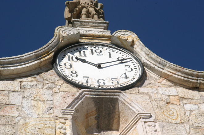 old clock at San Marcos GDL