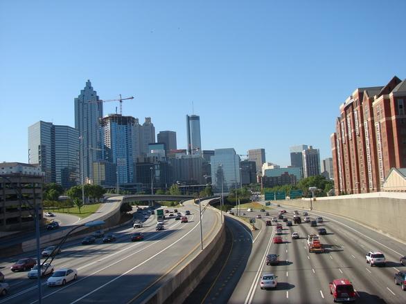 Atlanta from North Avenue Bridge