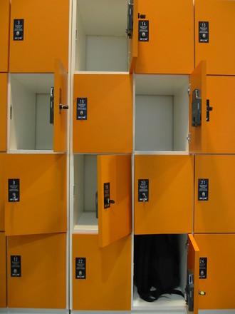 Locker at university 3