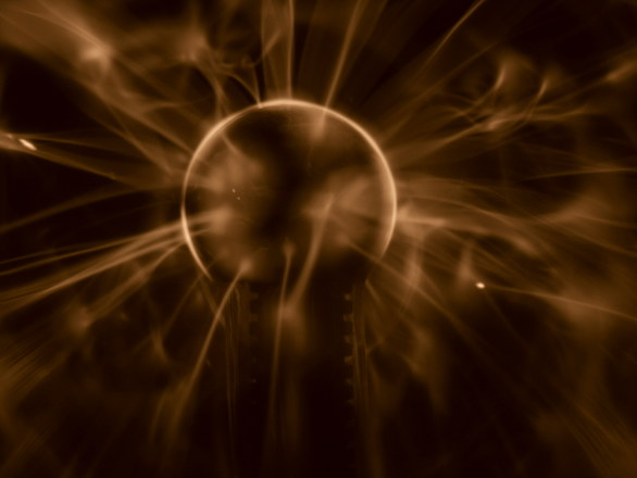 plasma ball in action