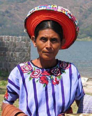 mayan village - people 09