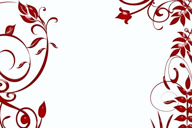 Free design floral vermelho stock photo - Molduras de escayola en madrid ...