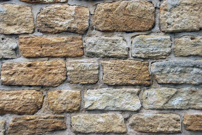Free Medieval Stone Wall Texture 1 Stock Photo