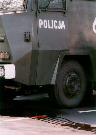 """Polish Police """"Iron Maiden"""