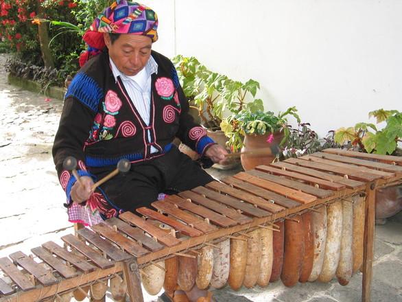 mayan village - people 05